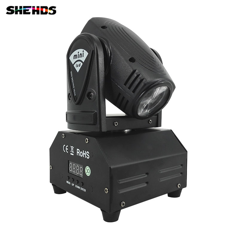 2pcs/lot Fast shipping Mini LED 10W RGBW Beam Moving Head Light Beam High Power Light with Professional for Party KTV Disco DJ