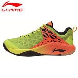 Li-Ning 2017 Newest Men's Badminton Shoes Breathable Lining Athletic Sneaker Anti-Slippery Sports Shoe Genuine AYTM071 L714OLB