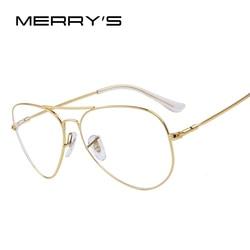 Merry s fashion women titanium glasses frames men brand titanium eyeglasses gold shield frame with glasses.jpg 250x250