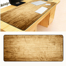Mairuige 400*900 Locking Edge Yellow Woods Large Gaming Mouse Pad High Quality Expansion Mousepad Profession Free Shipping