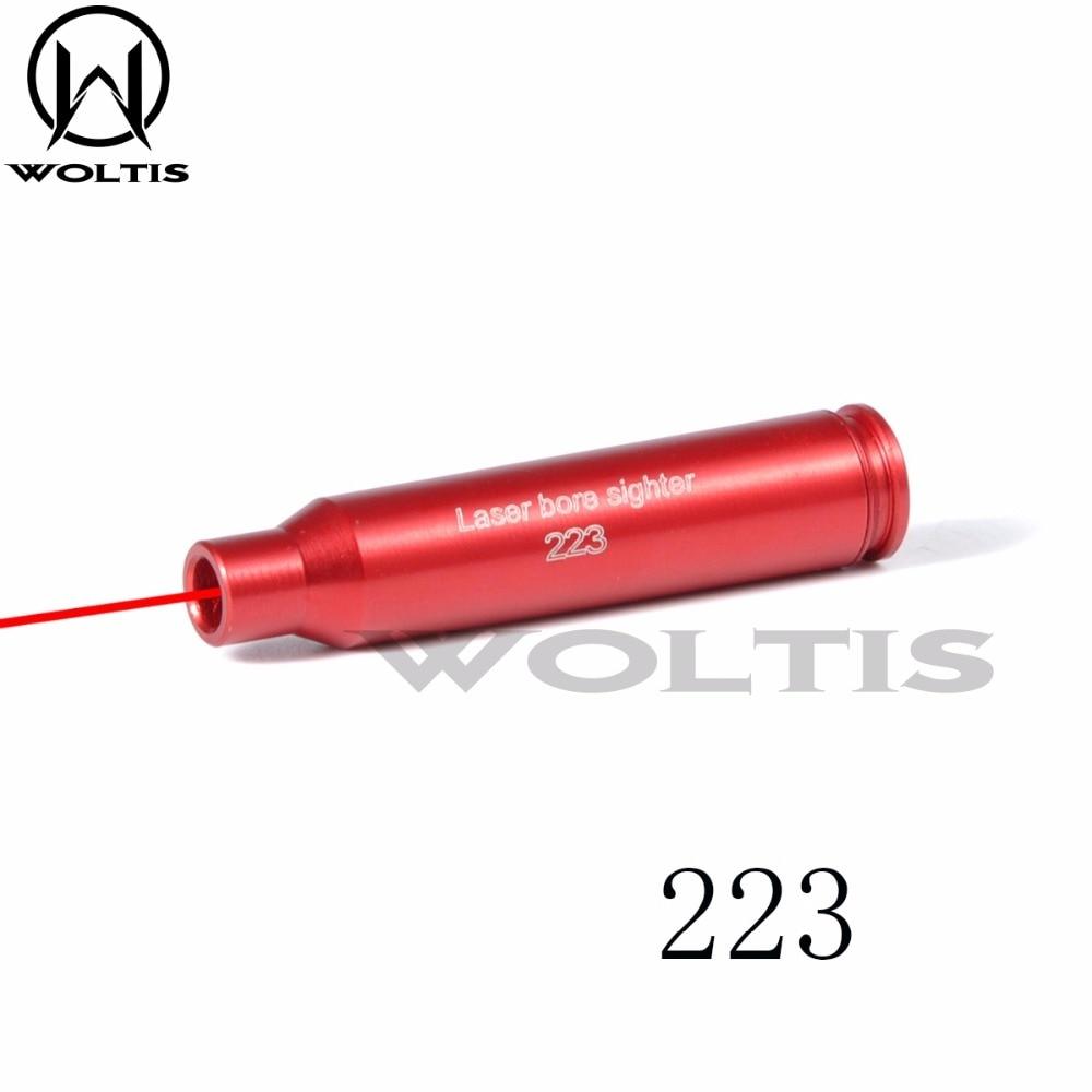 223 REM Laser Cartridge Bore Sight 5.56 Nato Laser Boresight Scope Red Dot
