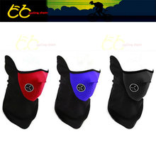 warm bicycle mask winter protection  blue /black /red