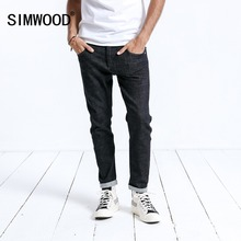 SIMWOOD 브랜드 청바지 남성 캐주얼 뜨거운 판매 2020 새로운 도착 슬림 데님 긴 바지 남자 바지 플러스 크기 고품질 180364
