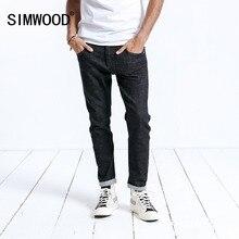 SIMWOOD marca Jeans hombres Casual gran oferta 2020 nueva llegada Slim Denim Pantalones largos para hombre Pantalones de talla grande de alta calidad 180364