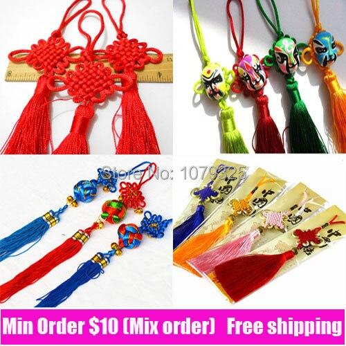 Traditional China Patterns traditional chinese knot gift mascot car pendant craft gifts nylon