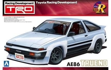 1/24 TRD AE86 Trueno N2 Araba Modeli 006331/24 TRD AE86 Trueno N2 Araba Modeli 00633