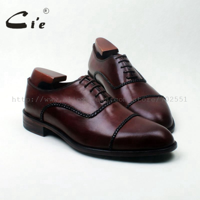 Cie round cap toe bespoke men leather shoe handmade wide for What is bespoke leather