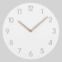 2017 Hot Selling Slient MDF Wooden Wall Clock Modern Design Vintage Rustic Shabby Clock Quiet Art