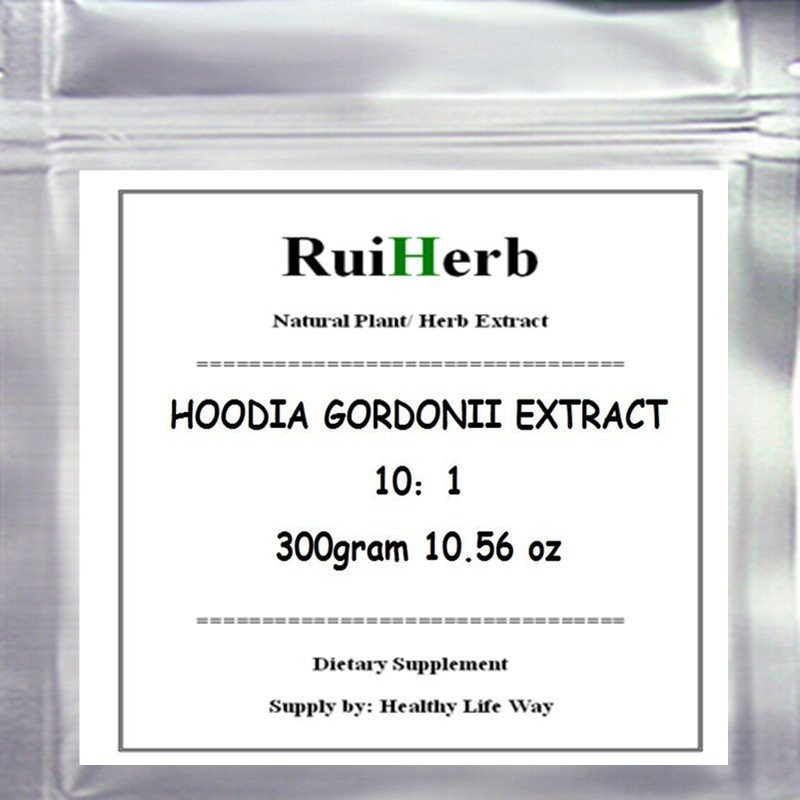 300gram HOODIA GORDONII EXTRACT Powder Natural Fat Burners For Weight Loss gmp certified natural lotus leaf extract folium nelumbinis p e nuciferine extract for weight lose fat loss slimming 500g