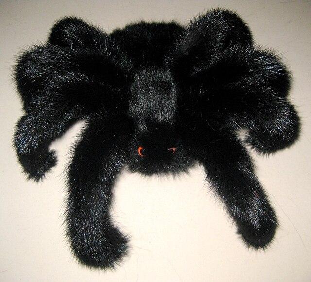 Персонализированные паук норки брелок настоящее мех паук правда аксессуары подвеска Авто интерьера Прохладный молодых обслуживание мебели