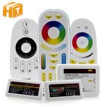 Умный контроллер светодиодной ленты 2,4G Радиочастотный пульт дистанционного управления/управление через приложение WiFi для полноцветной/RGBW/RGB/двойной белой светодиодной ленты