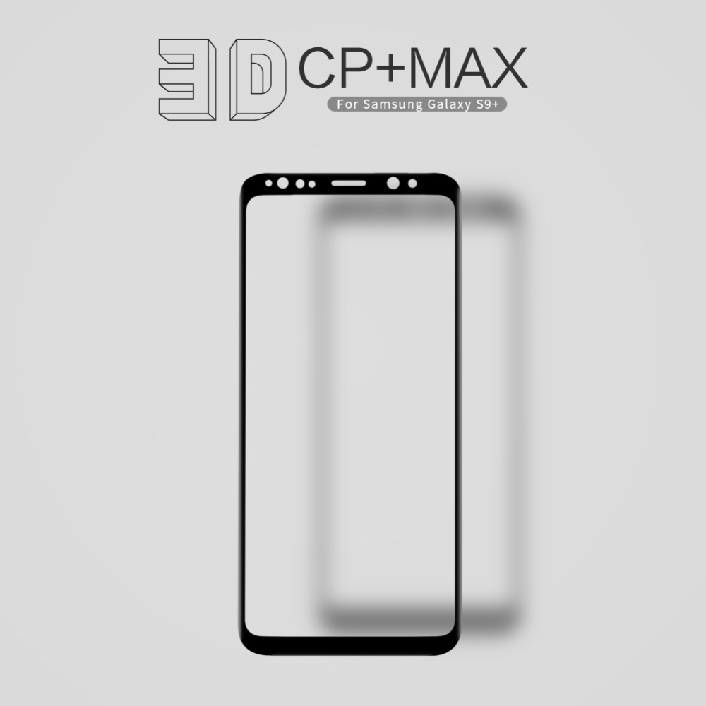 NILLKIN 9H Hardness 3D Curved Edge Full Cover Tempered Glass For Samsung Galaxy S9 Plus S9 Screen Protector Film 0.33mm 6.2''