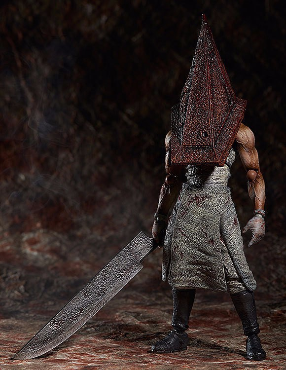 Silent Hill Action Figure Pyramid Head Figma PVC 150mm Collectible Model Toy Anime Movie Silent Hill Pyramid Head neca planet of the apes gorilla soldier pvc action figure collectible toy 8 20cm