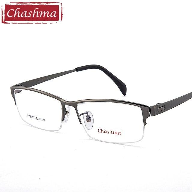 Tienda Online Chashma Gentlemen titanio puro marco Lentes Opticos ...