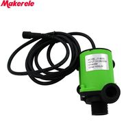 Frequency control of motor speed DC24V 1.2A 1000L/H Water Pump with wireless remote control and Control panel System Free ship