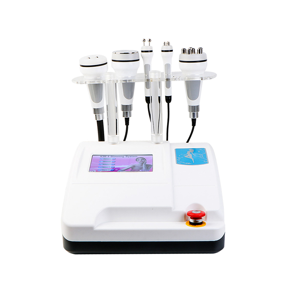 2019 New Latest Model 6in1 RF Radio Frequency Vacuum Lipo Laser Cavitation Body Shaper Weight Loss Slimming Machine SPA