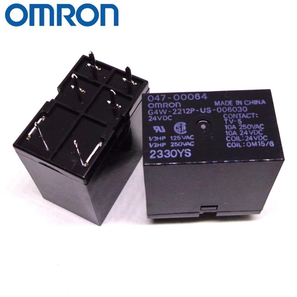 OMRON RELAIS G4W-2212P-US 006030 24VDC DC24V Marke neue und original relais