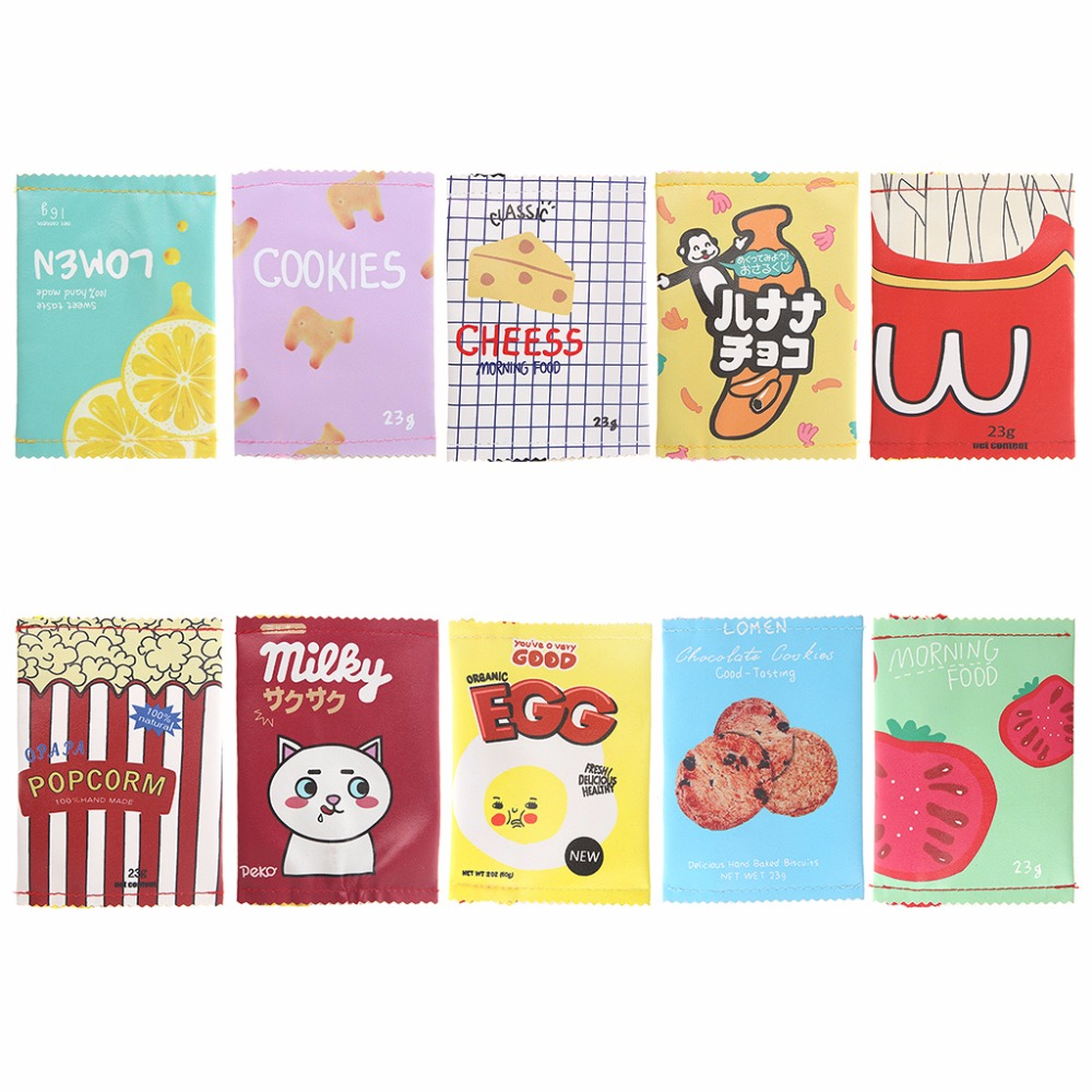 THINKTHENDO 13x9cm Mini Wallet Bags Change Pouch Key Card Holder Womens Girls Snacks Leather Coin Purse