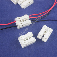 50pcs Big 2p Spring Quick Connector Wire Conneting Easy To Install No Welding No Screws Cable