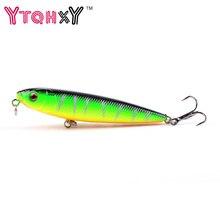 1Pcs 9g 8cm Pencil bait Topwater Floating Fishing lures Pencil Lure Hooks Crankbaits 5 Colors fishing