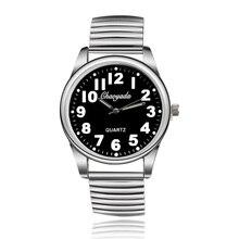 Reloj Original de alta Calidad de La Manera Elástico de Acero Lleno de Pulsera de Cuarzo Relojes Hombres y Mujeres relojes de vestir relojes de Pulsera Unisex