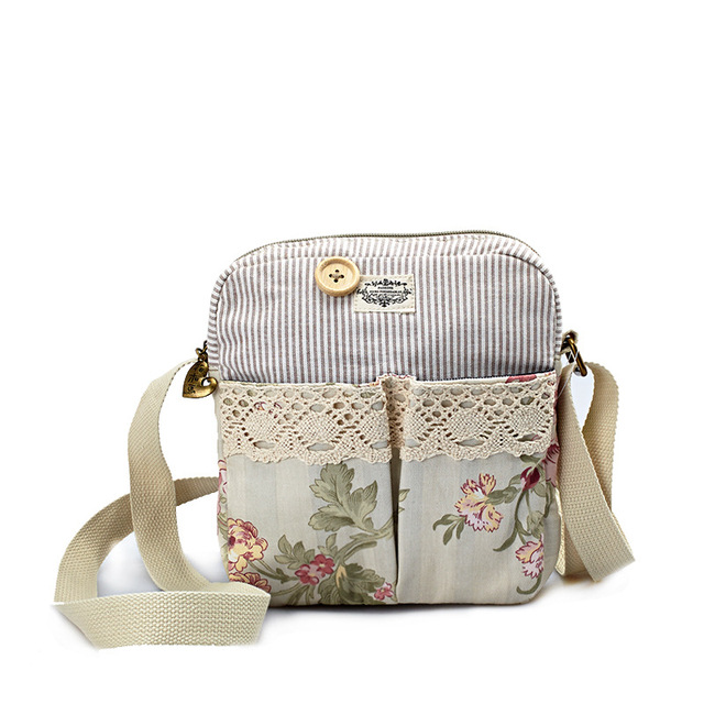 Women Flap Bags 2017 Fresh Style Cotton Printing Shoulder Bag Ladies Mini  Messenger Bags Female Small Coin Purse Handbags Gifts 887c4acde1963