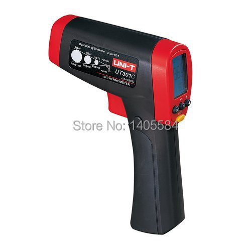 UNI-T UT301C UT-301C  Infrared IR Thermometer Laser Temperature Gun Meter Range -18 to 550 degree 0 to 1022 Fahrenheit Tester термометр uni t ut302b uni t 32 550