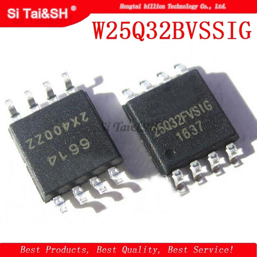 10PCS W25Q32BVSSIG W25Q32 W25Q32B 25q32 W25Q32BVSIG 25Q32BVSIG