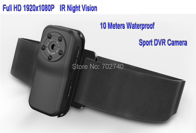 2017 New Camera Full HD 1920*1080P Sport DVR Camera Original 1080P Waterproof Camera Mini DV Free Shipping