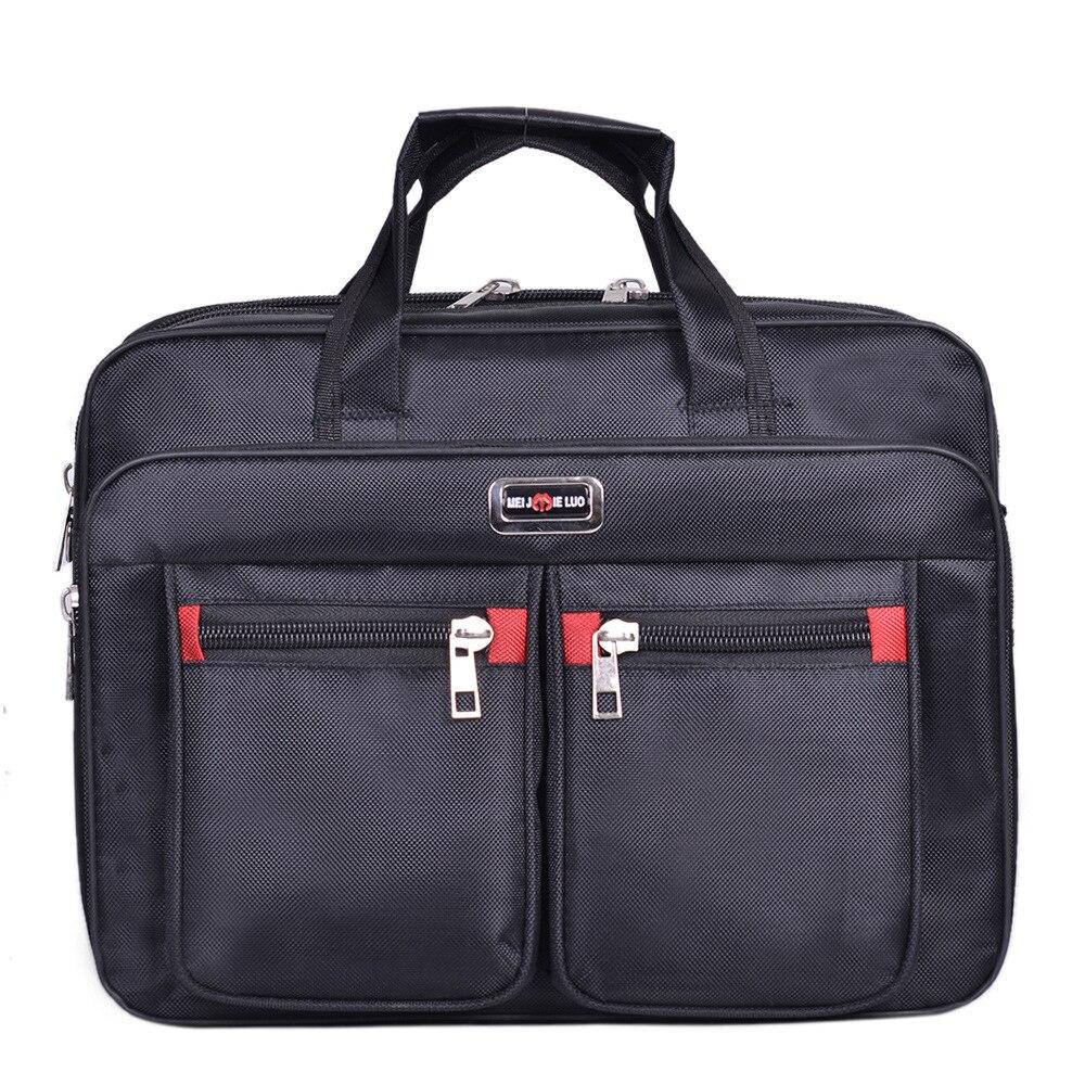 Handbags Laptop-Bag Shoulder-Bag Computer Business Waterproof Portable Black Men's Zipper