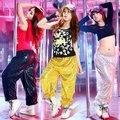 Homens & Mulheres Harem Pants Legal Unisex Hiphop Calças Soltas das mulheres de Bling de Lantejoulas Brilhantes Trajes DS Dança Calças para 155-185 cm