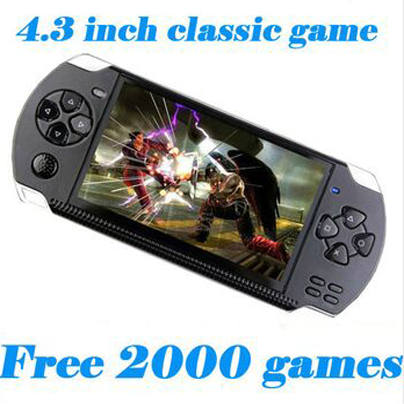 Kinghan V9 4 3 Inch Ultra Thin 8G Built In Memory Video Game Console MP5 Music