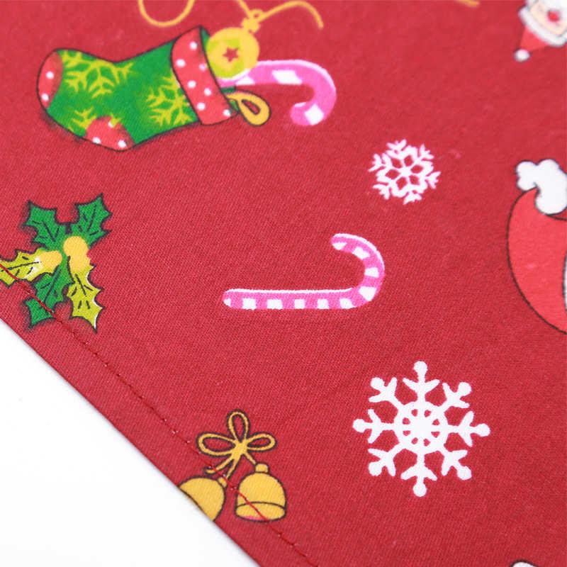 Xpangle Haustier Hund Kragen Weihnachten Dreieckigen Schal Mund Handtuch für Hund Katze Zubehör Chihuahua Mops Kleine Medium Hunde Katzen