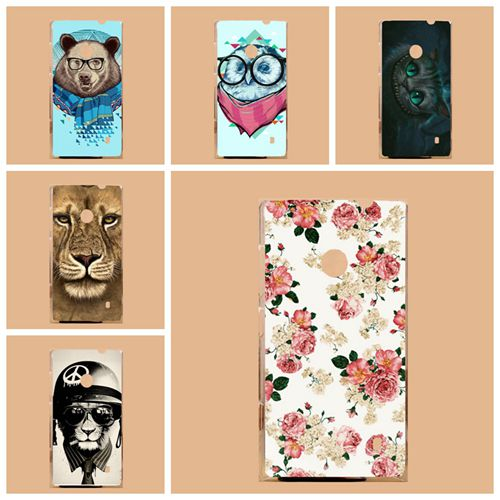 For Nokia Lumia 520 Cases,Fashion Diy Painting Colored