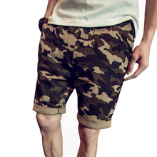 2017 Fashion Joggers Men Military Cargo Masculino Pant Casual Camouflage Trousers Pocket Short Sweatpants Mens Pants