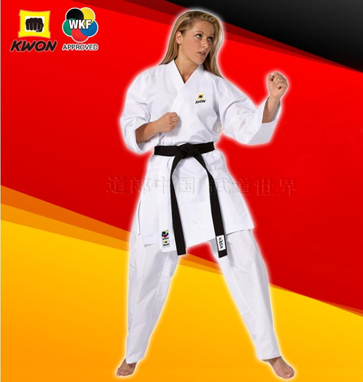 WKF approved Karate GI Germany KWON Karate training uniforms Standard Katate match suits 3D line materials