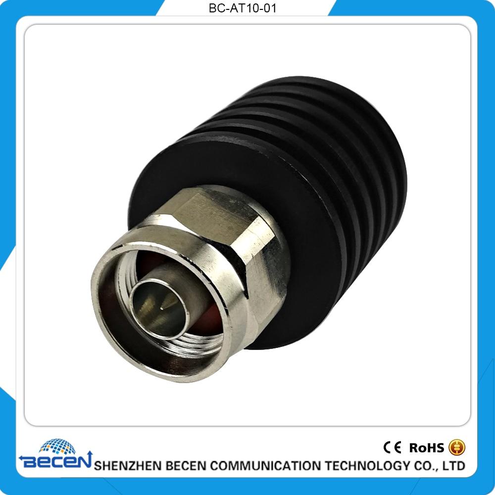 10W N-JK RF Coaxial Attenuator,DC-3GHz ,50 ohm,1db,3db,5db,6db,10db,15db,20db, 30dB,Free Shipping 50w n jk rf coaxial fixed attenuator dc 3ghz 50 ohm 1db 3db 5db 6db 10db 15db 20db 30db 40db 50db free shopping