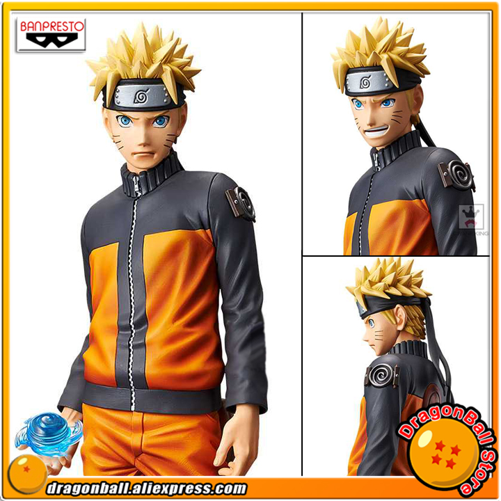 Japan Anime NARUTO Shippuden Original Banpresto Grandista Shinobi Relations Collection Figure - Uzumaki Naruto
