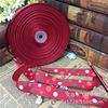 2 5cm Thread Ribbon Printing Four Color Size Dot Bow Gift Box Packaging With Wedding Hi