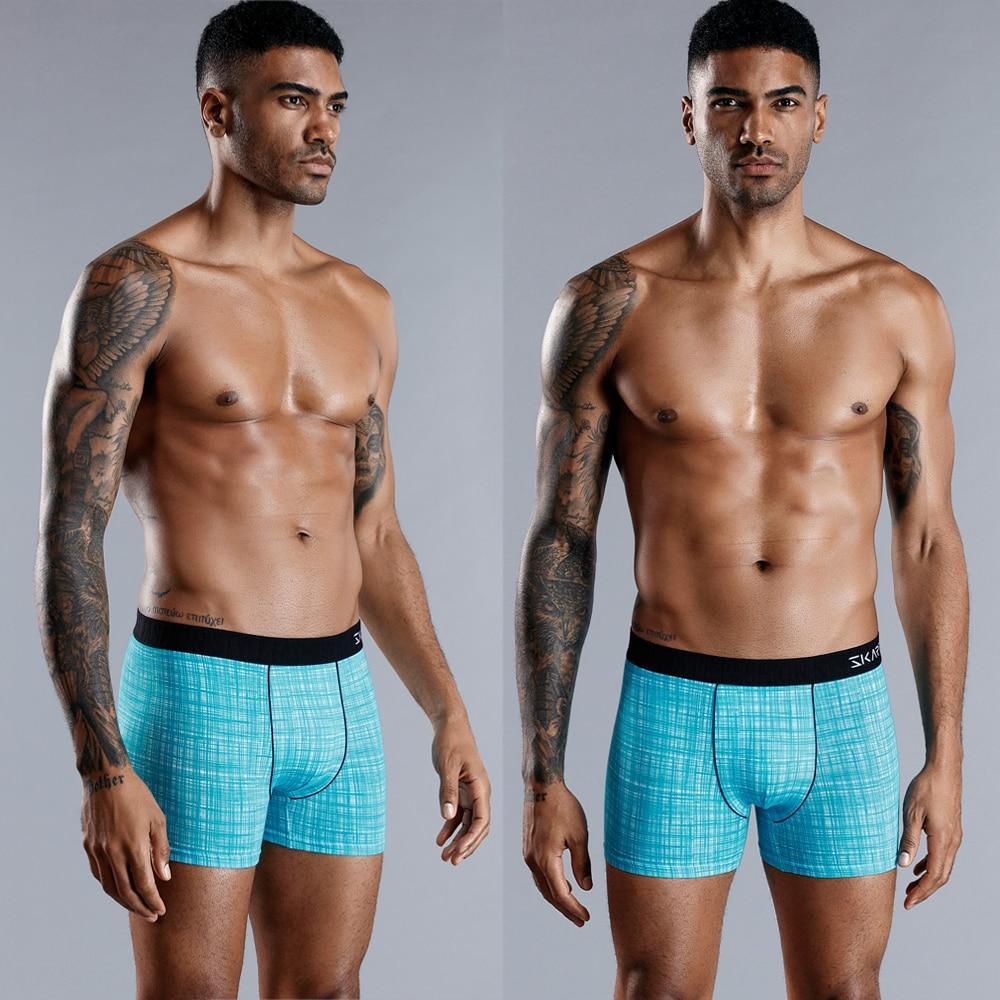 Boxer uomo Boxer Boxer marca mutandine da uomo intimo uomo mutande uomo cotone Sexy per uomo Calecon famiglia 2