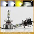 6000LM Супер Яркий Автомобиль СВЕТОДИОДНЫЕ Фары Комплект H4 HB2 9003 с XML2 Чип Замена Лампы 3000 К 6000 К 8000 К