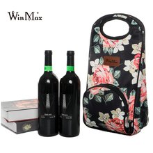 Quality Thicken Wine Champagne Cooler Bag Outdoor Picnic Beer Wine Cooling Tote Bag Bottle Carrier Holder Gifts For Wine Lovers