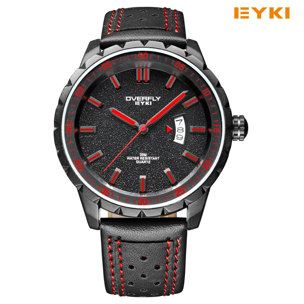 Fashion Casual Colorful Military Watch Men 2016 EYKI Brand Sport Watch Luxury Brand Swiss Style Military