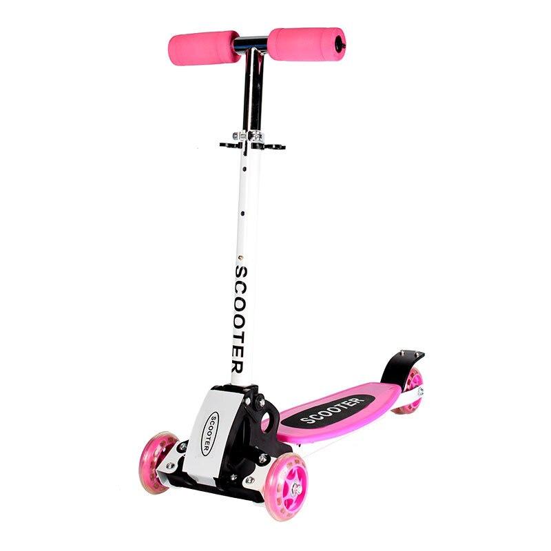 2019 pliant enfants enfant baie flash scooters voiture bébé marcheur voiture enfants hauteur réglable planche à roulettes dérive voiture luge - 6