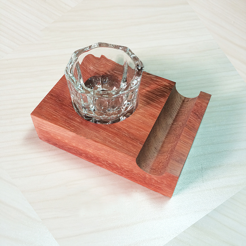 Rosewood Pen Holder With Ink Fount Special For English Caligraphy Dip Pen