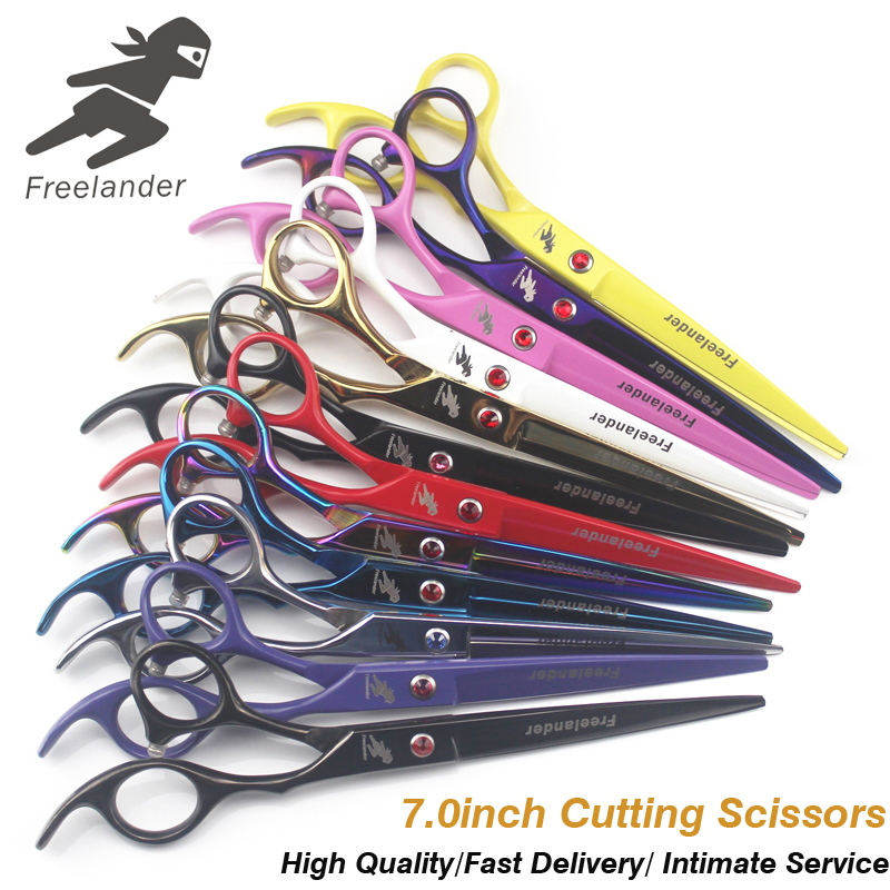 7.0 Inch Professional Scissors Dog Pet Grooming Polishing Tool Animal Hair Cutting Scissors