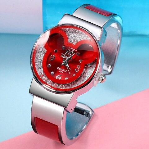 Disney children watch Parent-child quartz watch Mickey mouse lady Bracelet Watch female jewelry gift Pakistan