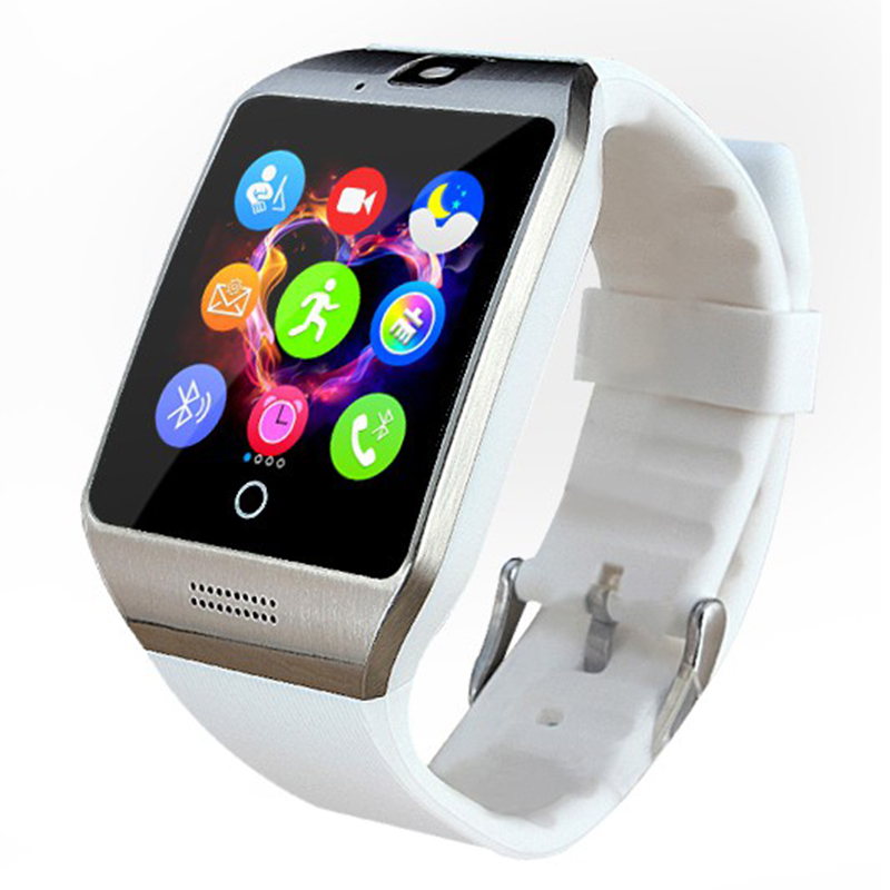 Pewant Android Wear Montre intelligente Q18 Bluetooth Connecté - Smart electronics