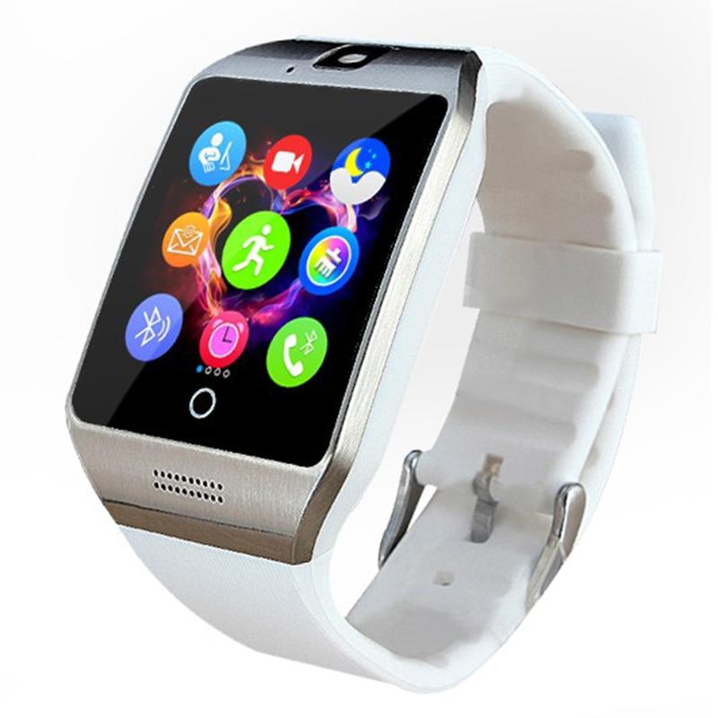 Pewant Android Wear 스마트 시계 Q18 블루투스 연결 손목 - 스마트 전자