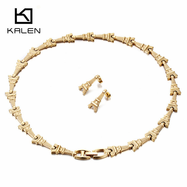Kalen Gold Color Jewelry...